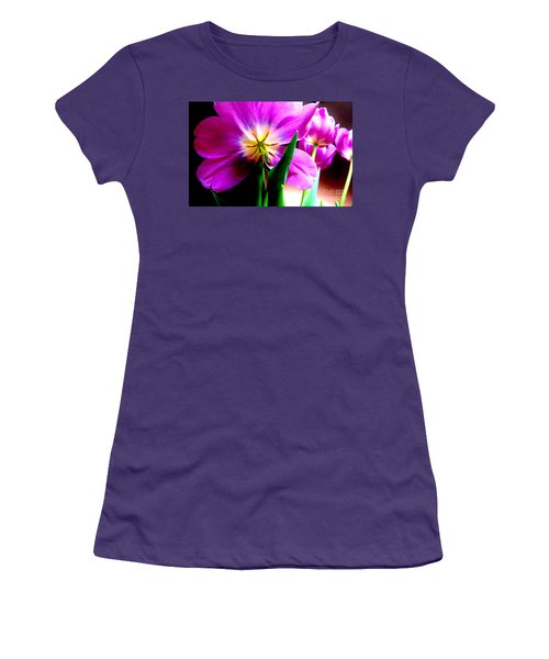 Tulip Time Women's T-Shirt (Athletic Fit)