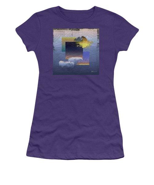 Twilight Interrupted By Ocean Breeze Women's T-Shirt (Junior Cut) by Serge Averbukh