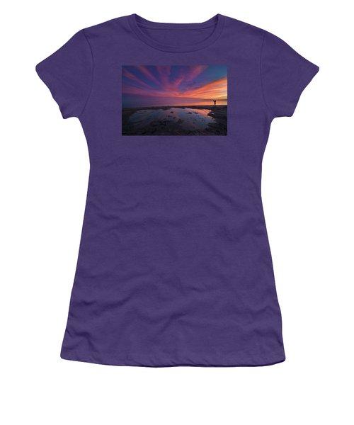 Twilight Time Women's T-Shirt (Junior Cut) by Ralph Vazquez
