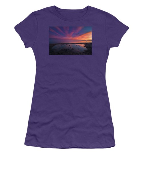 Twilight Time Women's T-Shirt (Athletic Fit)