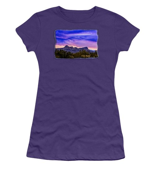Twin Peaks H31 Women's T-Shirt (Junior Cut) by Mark Myhaver