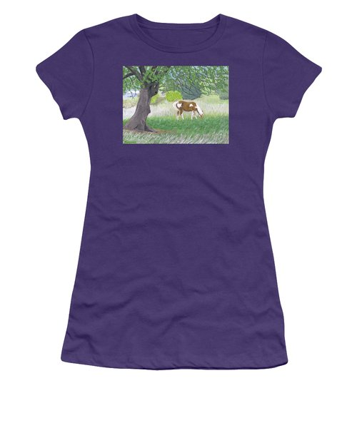 Under The Old Apple Tree Women's T-Shirt (Athletic Fit)