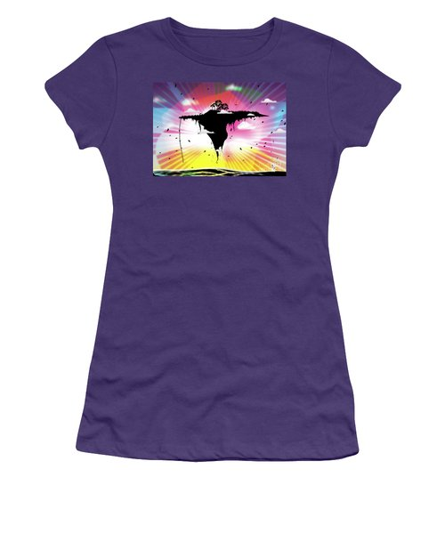 Ups And Downs Women's T-Shirt (Athletic Fit)