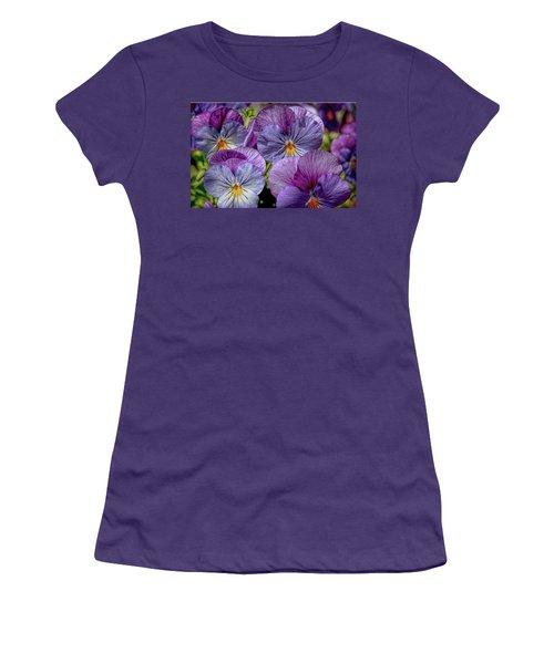 Women's T-Shirt (Junior Cut) featuring the photograph Viola by Bonnie Willis