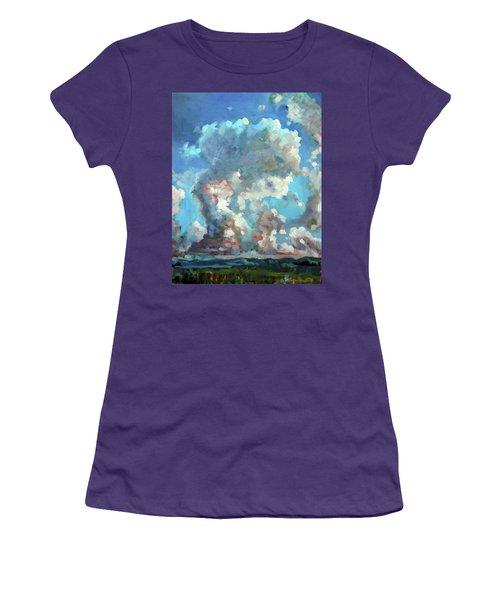Virginia Sky Women's T-Shirt (Athletic Fit)