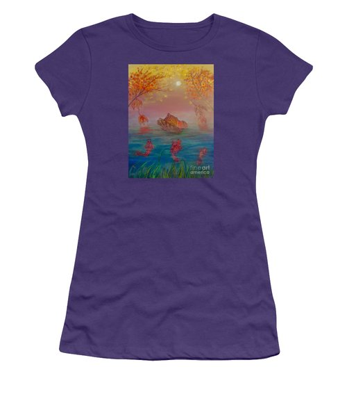 Watching The Dance Of The Fallen Elements Women's T-Shirt (Athletic Fit)