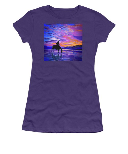 We And Still Waters Women's T-Shirt (Athletic Fit)