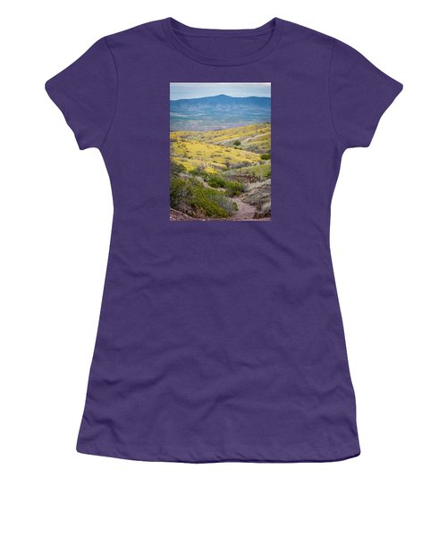 Wildflower Meadows Women's T-Shirt (Athletic Fit)