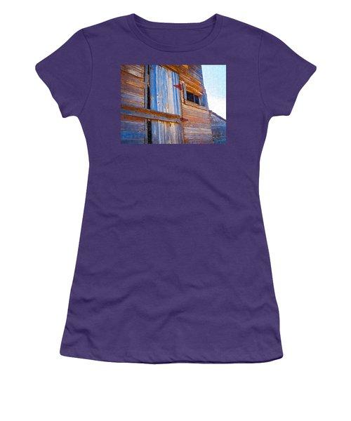 Women's T-Shirt (Junior Cut) featuring the photograph Window 3 by Susan Kinney