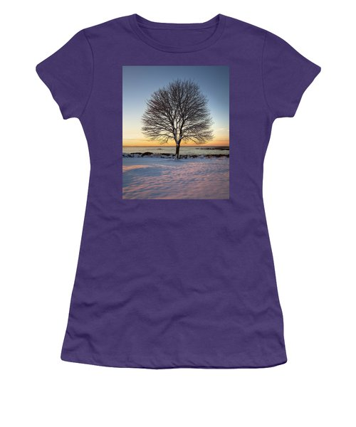 Winter On The Coast Women's T-Shirt (Athletic Fit)