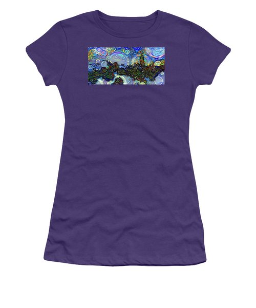 Wonderland Women's T-Shirt (Athletic Fit)