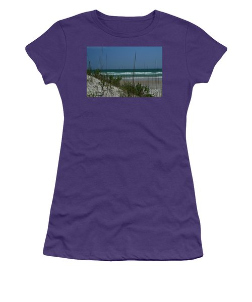 Wrightsville Beach North Dunes Women's T-Shirt (Athletic Fit)
