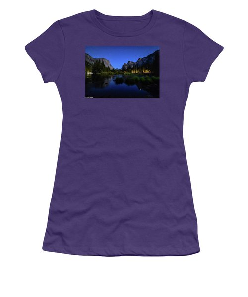 Yosemite Nights Women's T-Shirt (Athletic Fit)