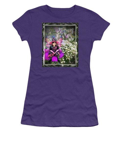 Zoey Women's T-Shirt (Junior Cut) by Susan Kinney