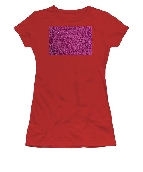 Abstract Texture - Purple Women's T-Shirt (Athletic Fit)