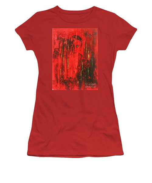 Dantes Inferno Women's T-Shirt (Junior Cut) by Roberto Prusso