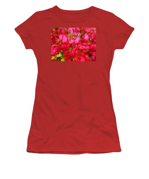 Explosion Of Spring Women's T-Shirt (Athletic Fit)
