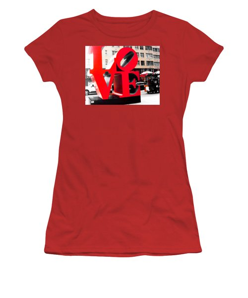 Women's T-Shirt (Junior Cut) featuring the photograph Love by J Anthony