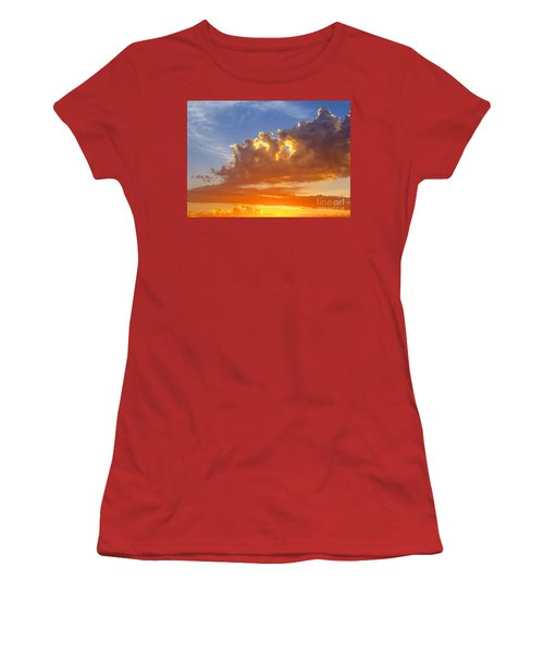 Women's T-Shirt (Junior Cut) featuring the photograph To God Be The Glory by Robert Pearson