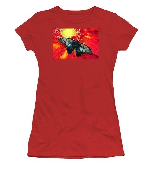 Butterfly Women's T-Shirt (Junior Cut) by Tam Ryan