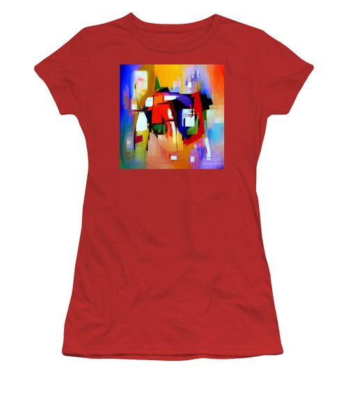 Abstract Series Iv Women's T-Shirt (Athletic Fit)