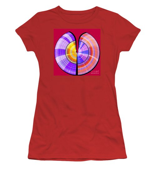 1330 Abstract Thought Women's T-Shirt (Athletic Fit)