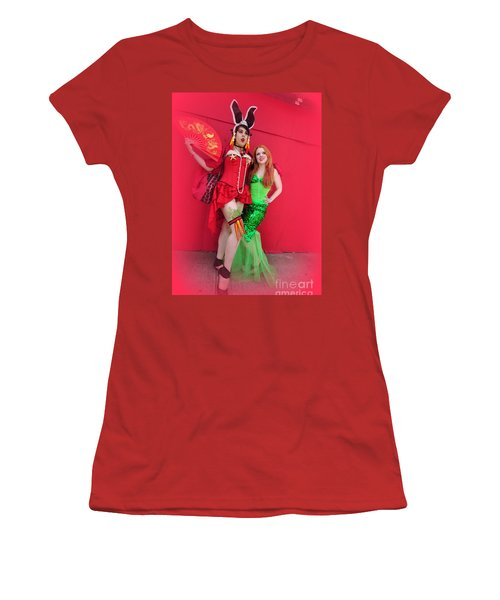 Mermaid Parade 2011 Women's T-Shirt (Junior Cut) by Mark Gilman