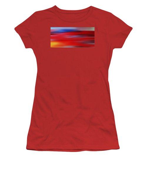 Series Mesmerizing Landscapes Women's T-Shirt (Junior Cut) by Sir Josef - Social Critic -  Maha Art