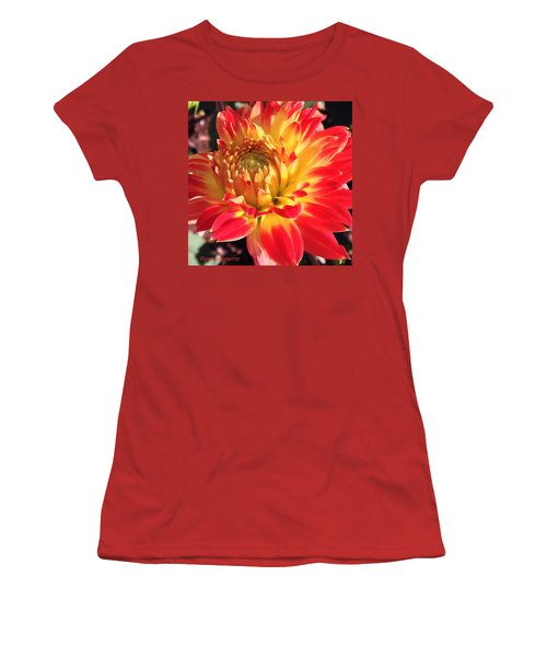 A Burst Of Fall Color Women's T-Shirt (Athletic Fit)