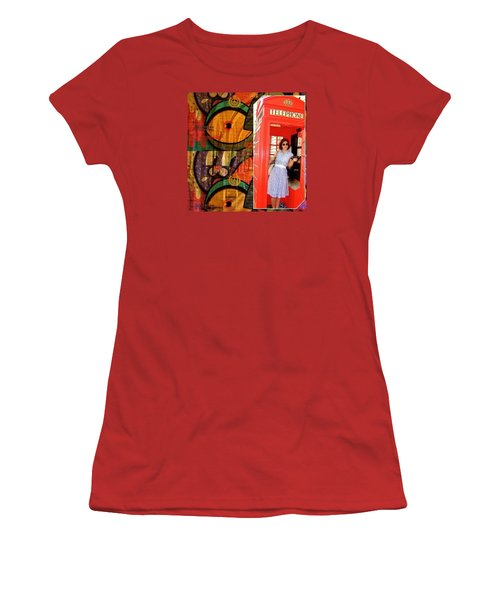 A Classic Chrissy Moment Women's T-Shirt (Junior Cut) by Anna Porter