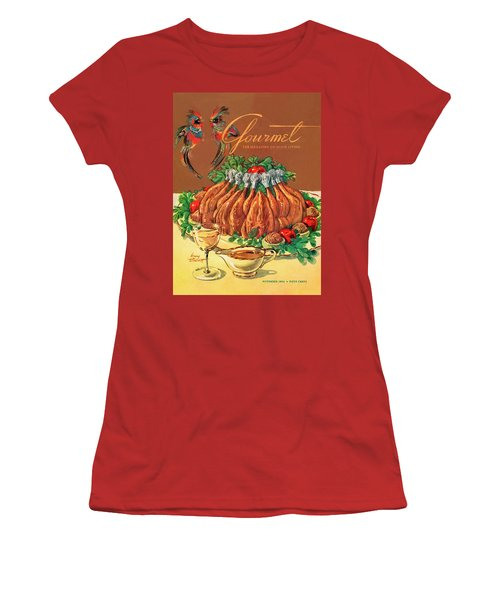 A Gourmet Cover Of Chicken Women's T-Shirt (Athletic Fit)