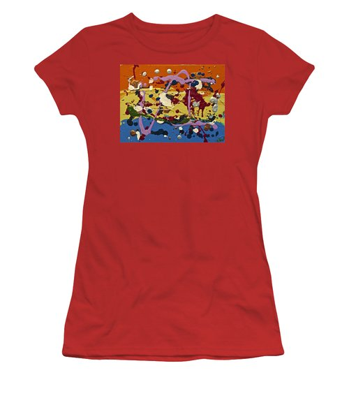 Abstracts 14 - The Circus Women's T-Shirt (Athletic Fit)