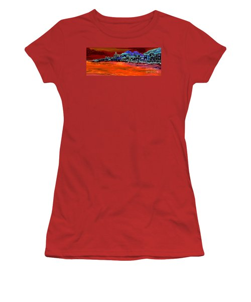 Away From Home Women's T-Shirt (Junior Cut) by Loredana Messina