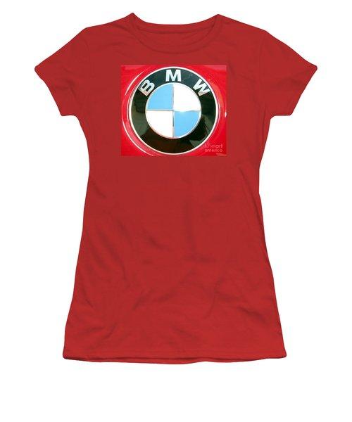 Women's T-Shirt (Junior Cut) featuring the photograph Elite Transportation by Susan Carella