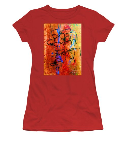 Baja Primative Women's T-Shirt (Junior Cut) by Roberto Prusso