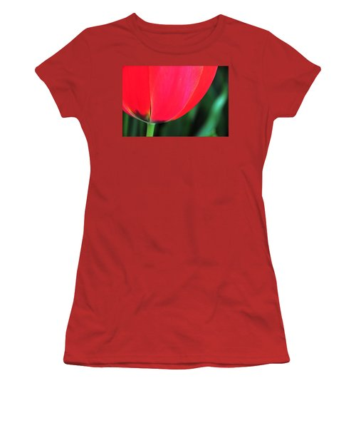 Women's T-Shirt (Junior Cut) featuring the photograph Beneath by Mike Martin