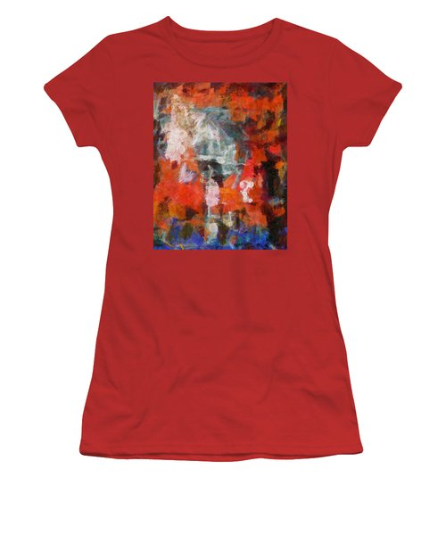 Women's T-Shirt (Junior Cut) featuring the digital art Blows Away In The Wind by Joe Misrasi