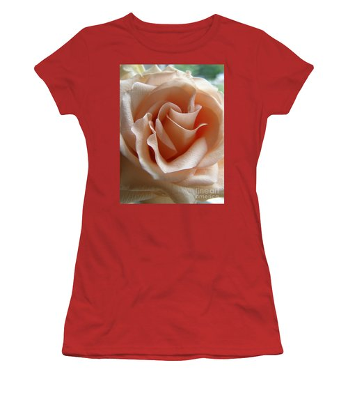 Blushing Rose Women's T-Shirt (Athletic Fit)