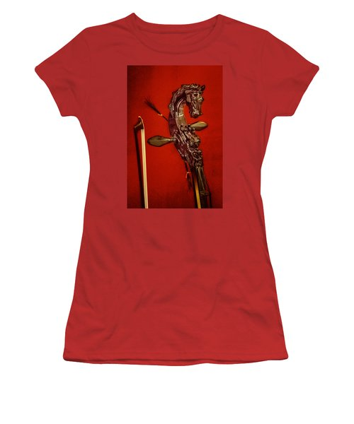 Bowed Lute Women's T-Shirt (Athletic Fit)
