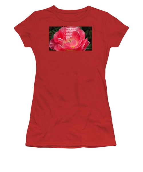 But A Woman Women's T-Shirt (Junior Cut)