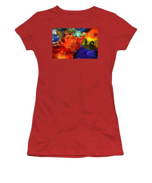 Chihuly-8 Women's T-Shirt (Junior Cut) by Dean Ferreira