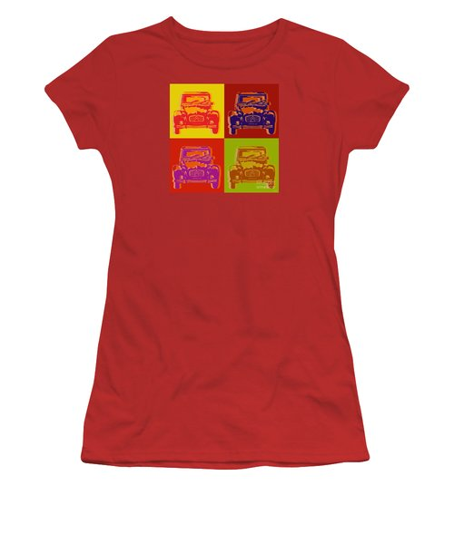 Citroen 2cv Women's T-Shirt (Junior Cut) by Jean luc Comperat