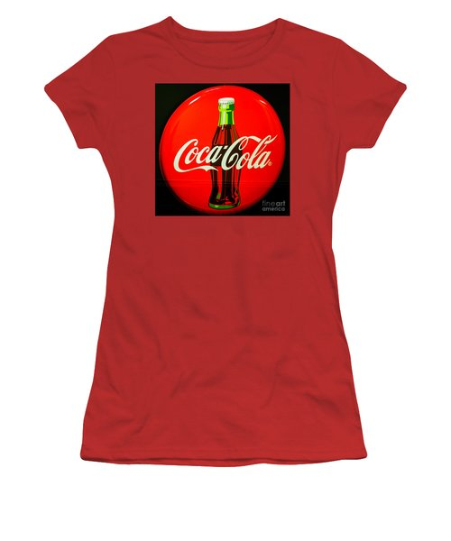 Coke Top Women's T-Shirt (Athletic Fit)