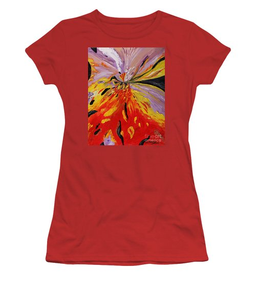 Colourburst Women's T-Shirt (Athletic Fit)