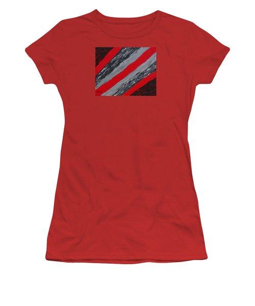 Cozy Afghan Women's T-Shirt (Junior Cut) by Donna  Manaraze