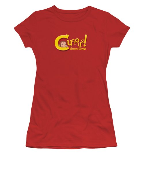 Curious George - Curious Women's T-Shirt (Junior Cut) by Brand A