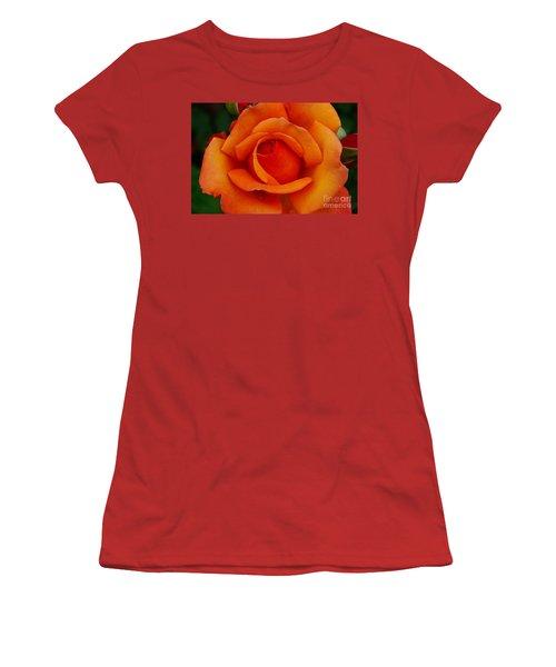 Detail In Orange Women's T-Shirt (Athletic Fit)
