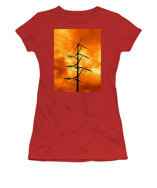 Energized Women's T-Shirt (Junior Cut) by Don Spenner