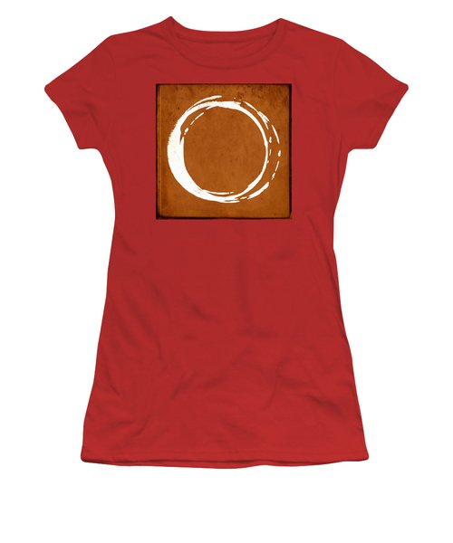 Enso No. 107 Orange Women's T-Shirt (Athletic Fit)