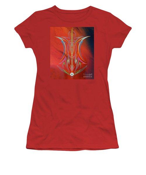 Eye Flying Women's T-Shirt (Junior Cut) by Alan Johnson